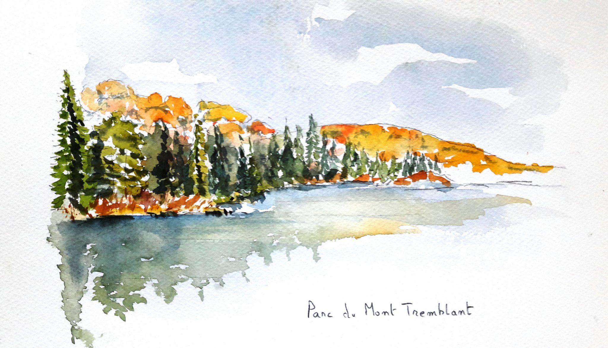 Carnet de voyage - Canada