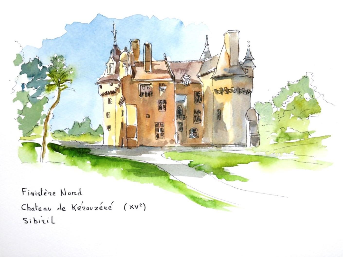 Bretagne 1 Chateau de Kérouzéré c