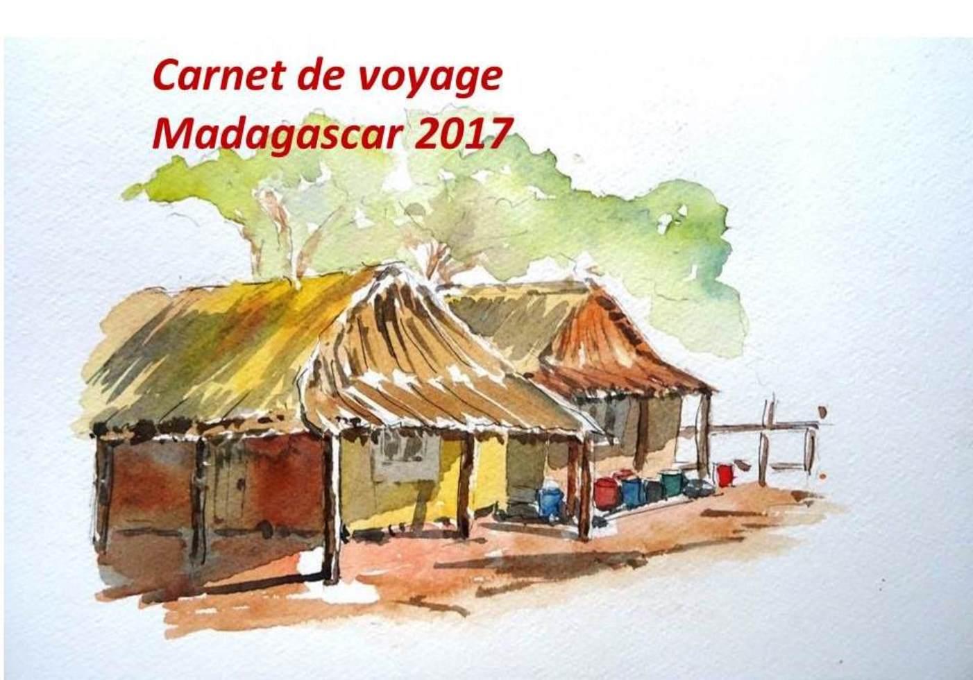 Carnet voyage Madagascar 2017