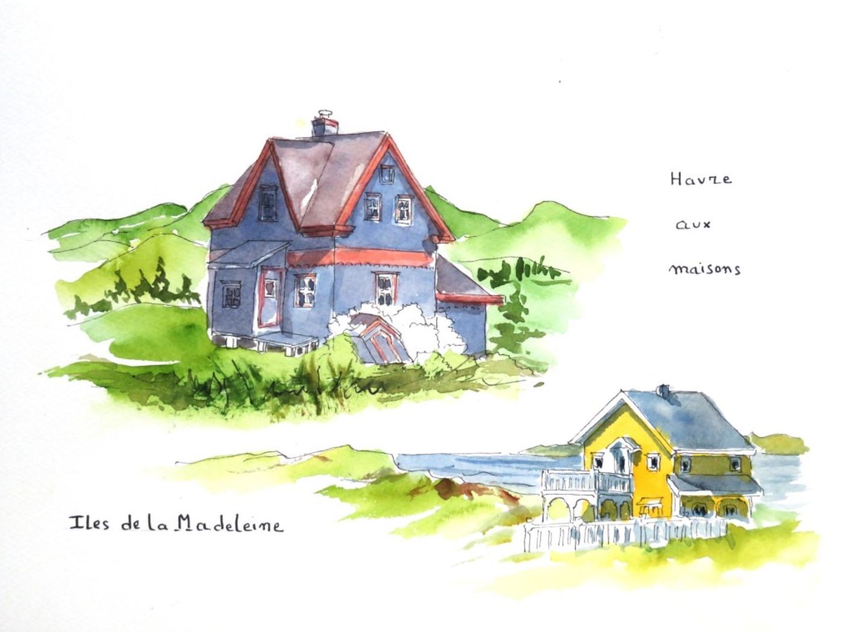 Madeleine 3 Havre aux maisons c