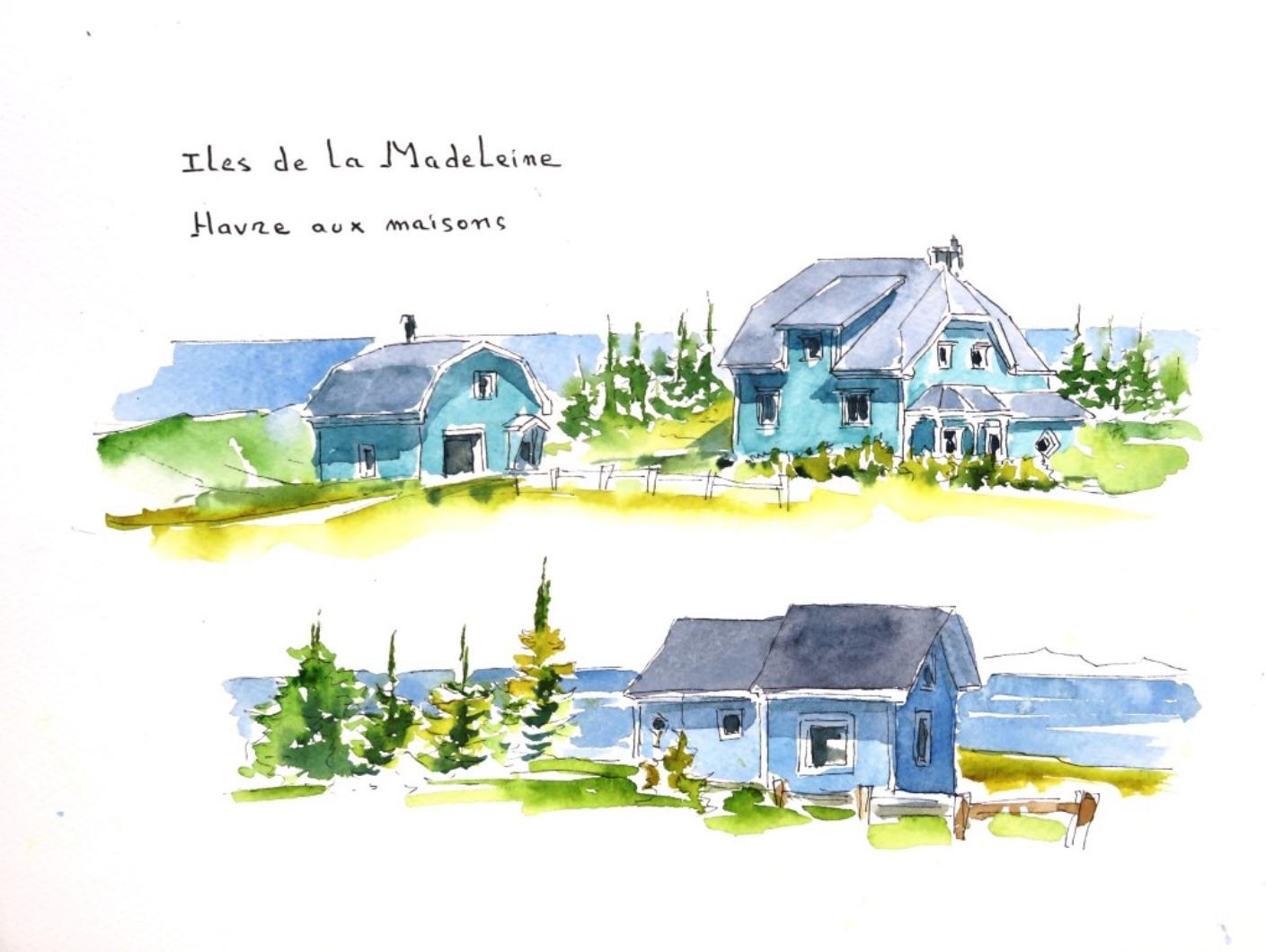 Madeleine 4 Havre aux maisons c