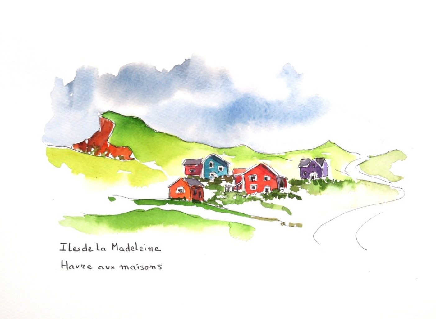 Madeleine 6 Havre aux maisons c