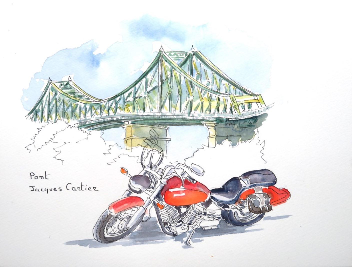 Montréal Pont Jacques Cartier c